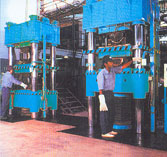 PLC Operated Moulding Presses